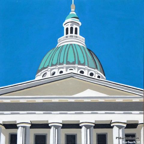 """""""Old Courthouse"""" - 20x20 - $395 - Contact Me"""