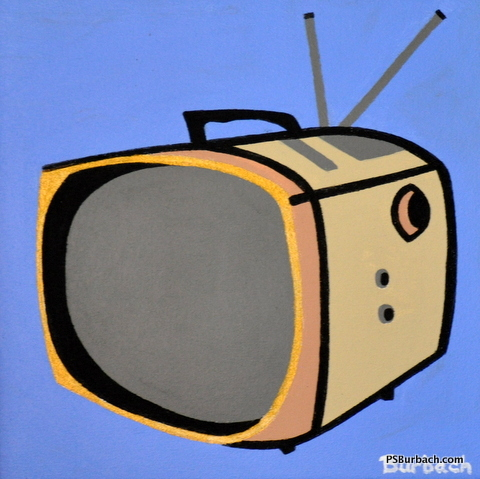 """""""RCA"""" - 12x12 framed - $275 - Contact Me"""