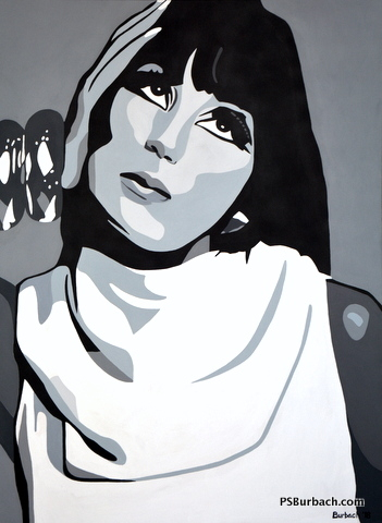 """""""Cher"""" - 36x48 - $1195 - Contact Me"""